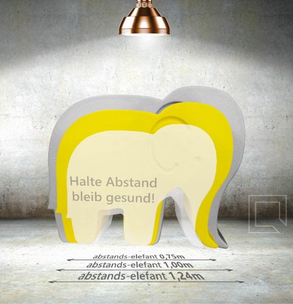 CUBIC abstandselefant