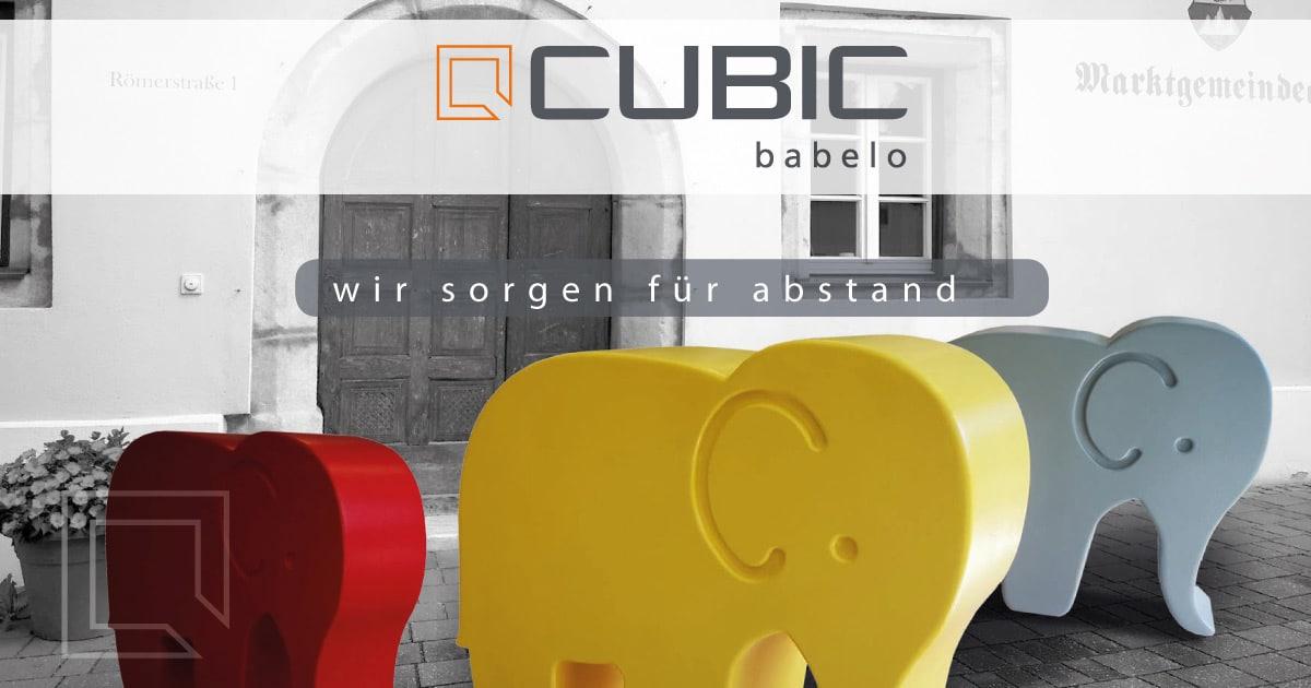 CUBIC - babelo abstands-elefant